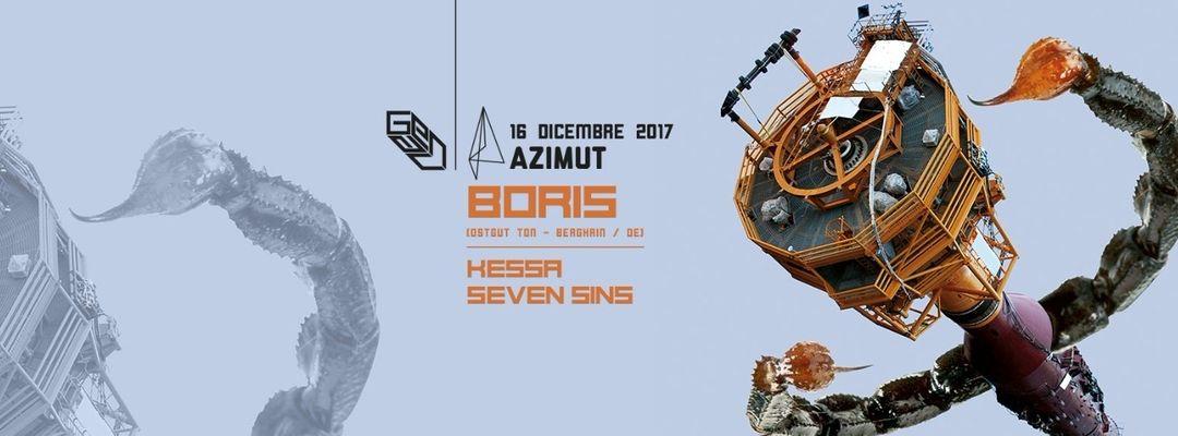 LOFT pres. Boris (Ostgut Ton - Berghain) at Azimut event cover