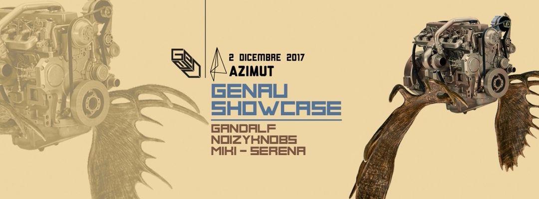 LOFT pres. GENAU Showcase at Azimut event cover