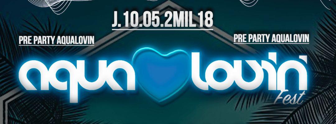 LONG PLAY CLUB PRE PARTY AQUA LOVIN-Eventplakat