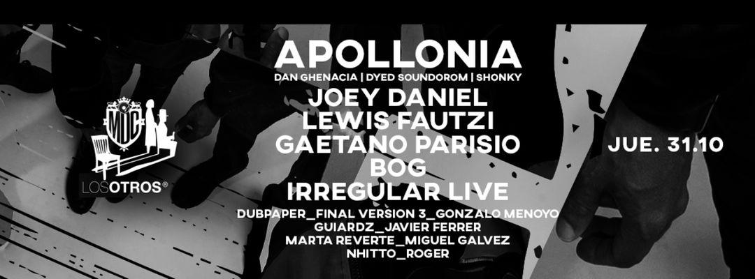 Cartell de l'esdeveniment Los Otros :: Apollonia :: MetroDanceClub :: 31 OCT