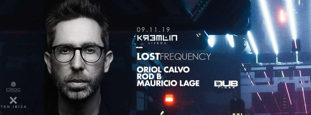 Lost Frequency w/ Oriol Calvo event cover