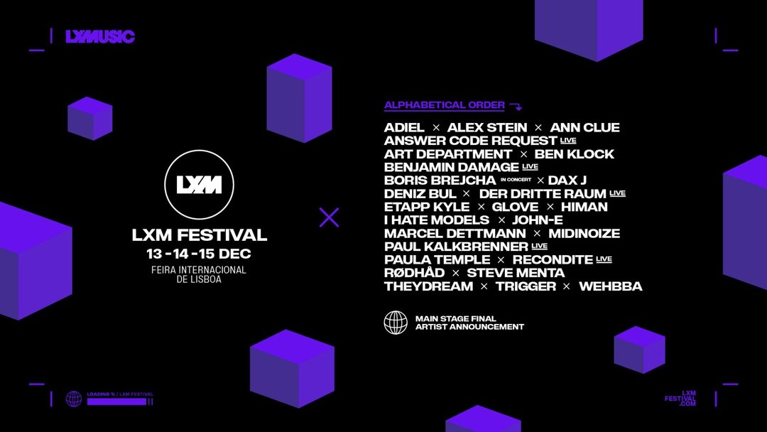 LXM FESTIVAL - 13-14-15 December 2019-Eventplakat