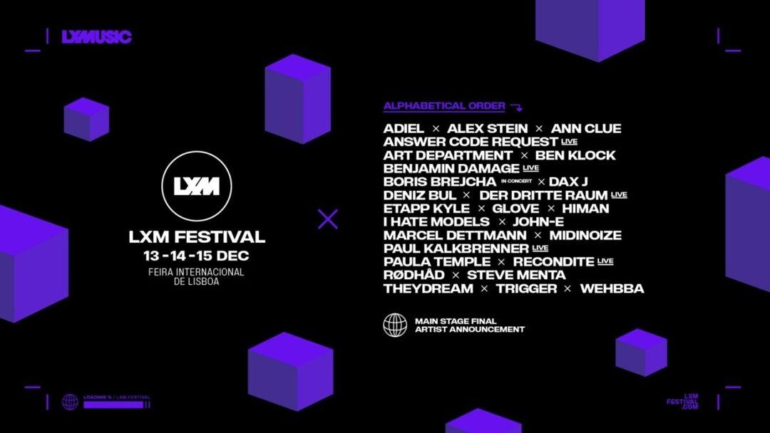 Capa do evento LXM Festival Day 15