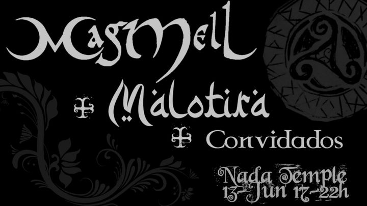 Cover for event: MagMell + Malotira no Nada Temple