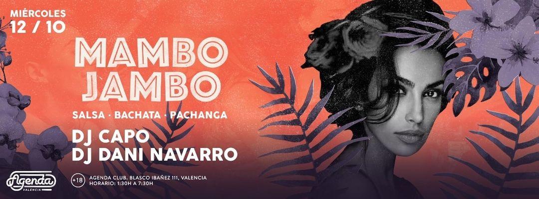 Cartel del evento Mambo Jambo: Dj Capo