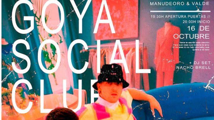 Cover for event: Manudeoro & Valde @ Goya Social Club
