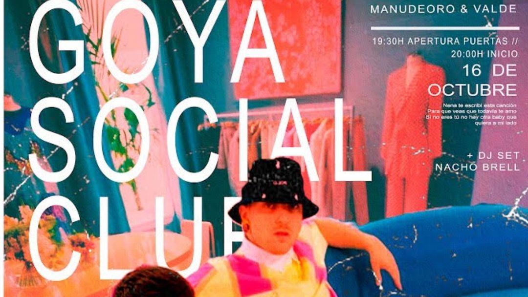 Manudeoro & Valde @ Goya Social Club event cover