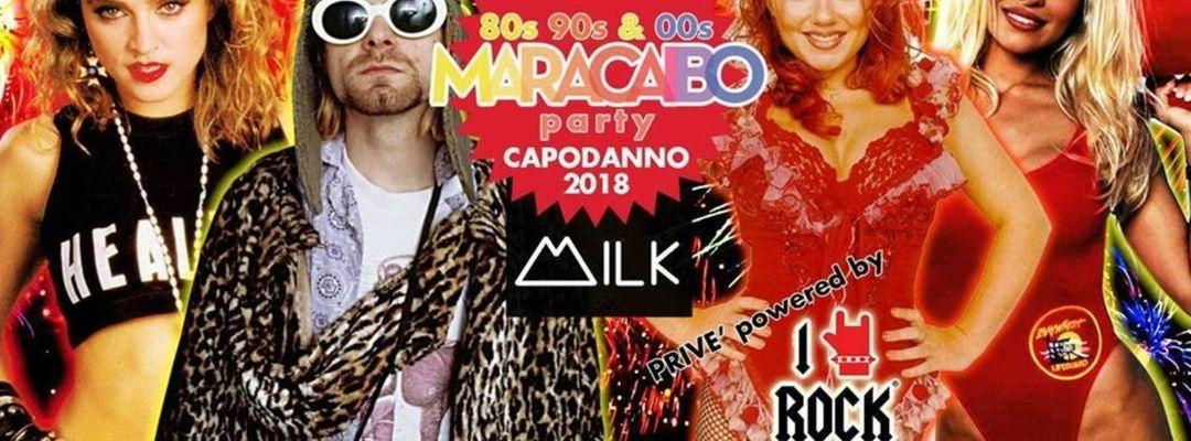Maracaibo! Il Capodanno di Torino Anni 80 e 90 + Rock event cover