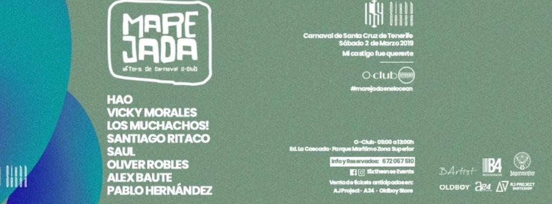 Cartel del evento MAREJADA Carnaval Afters Parties