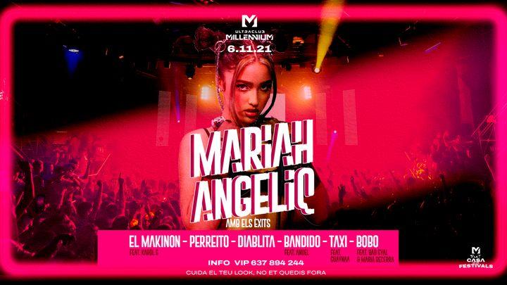 Cover for event: MARIAH ANGELIQ  PRIMER DIRECTE DE LA TEMPORADA