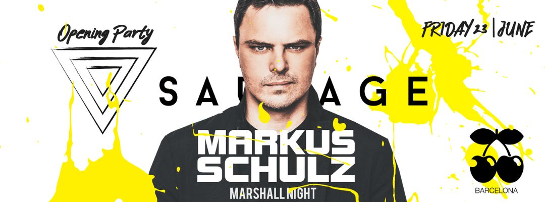 Cartel del evento Markus Schulz pres. by Sauvage