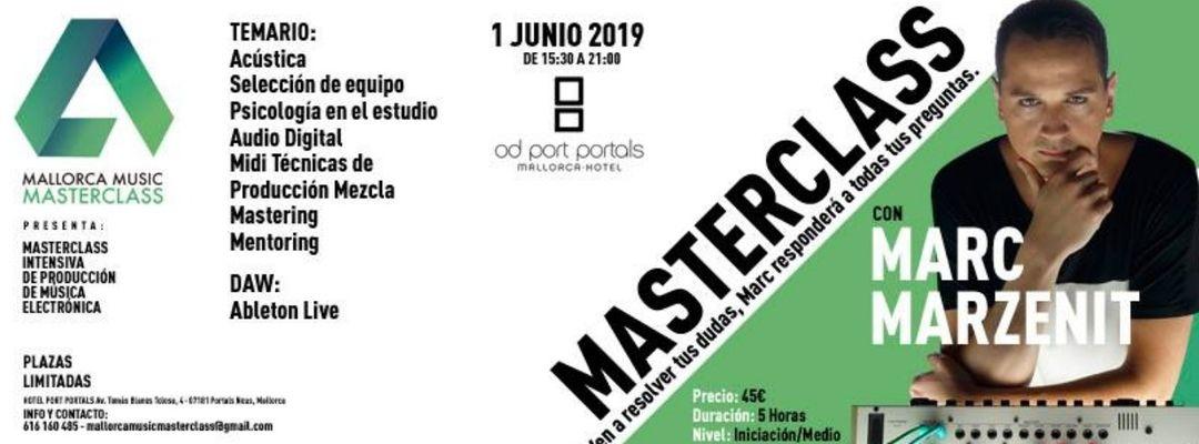 Masterclass con Marc Marzenit en Hotel OD Port Portals event cover