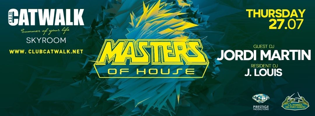 Cartel del evento Masters Of House at Skyroom | Every Thursday