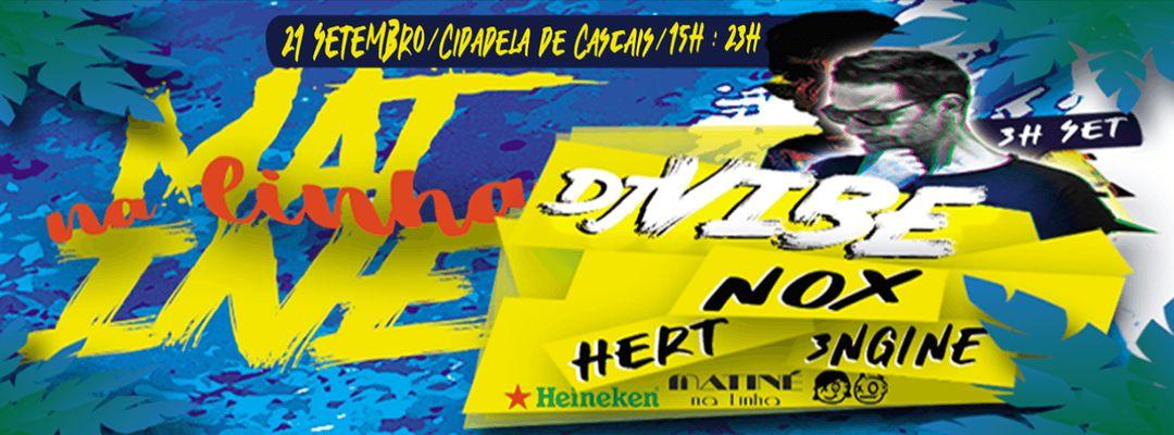 Cartel del evento Matiné na Linha Summer Closing W/ DJ VIBE