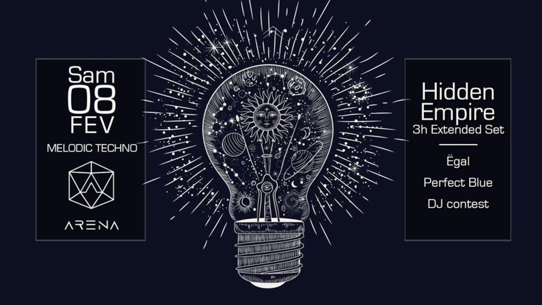 Cartel del evento Melodic Techno | Hidden Empire 3h Extended Set & More