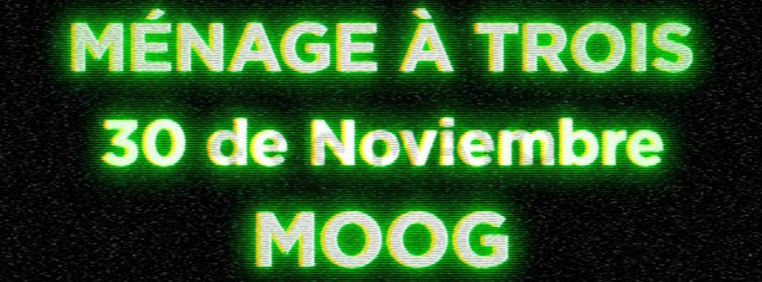 Couverture de l'événement MÉNAGE À TROIS