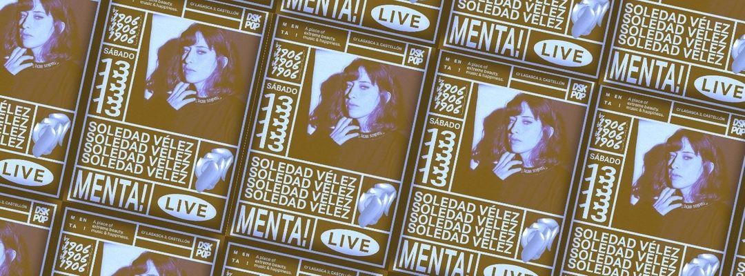 Menta Live! Soledad Vélez event cover