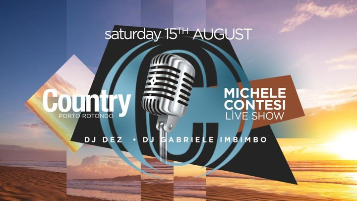 Cover for event: Michele Contesi Live Show | Country Club