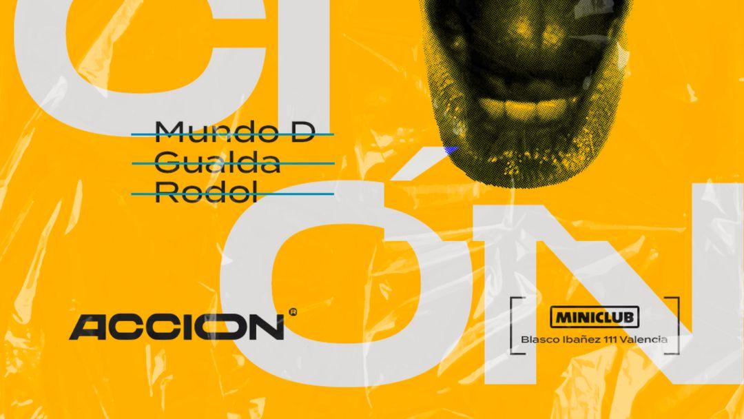 Cartel del evento Miniclub / Domingo ACCION