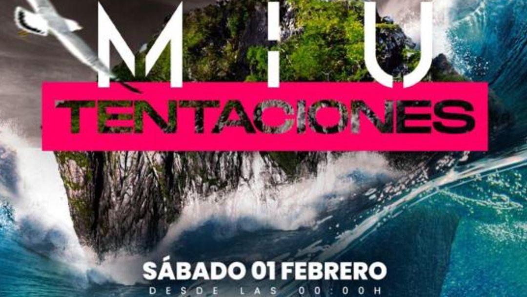MIU CLUB MARBELLA 1 febrero-Eventplakat