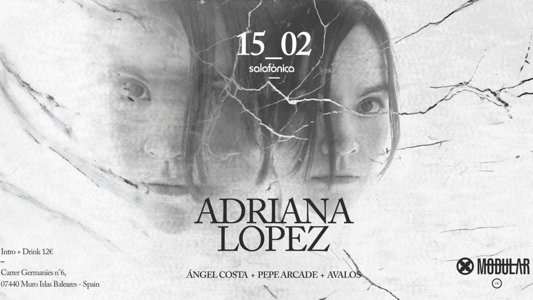 Capa do evento Modulλr presenta: Adriana lópez + Ángel Costa + Pepe Arcade + Ávalos
