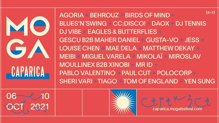 Cover for event: MOGA CAPARICA