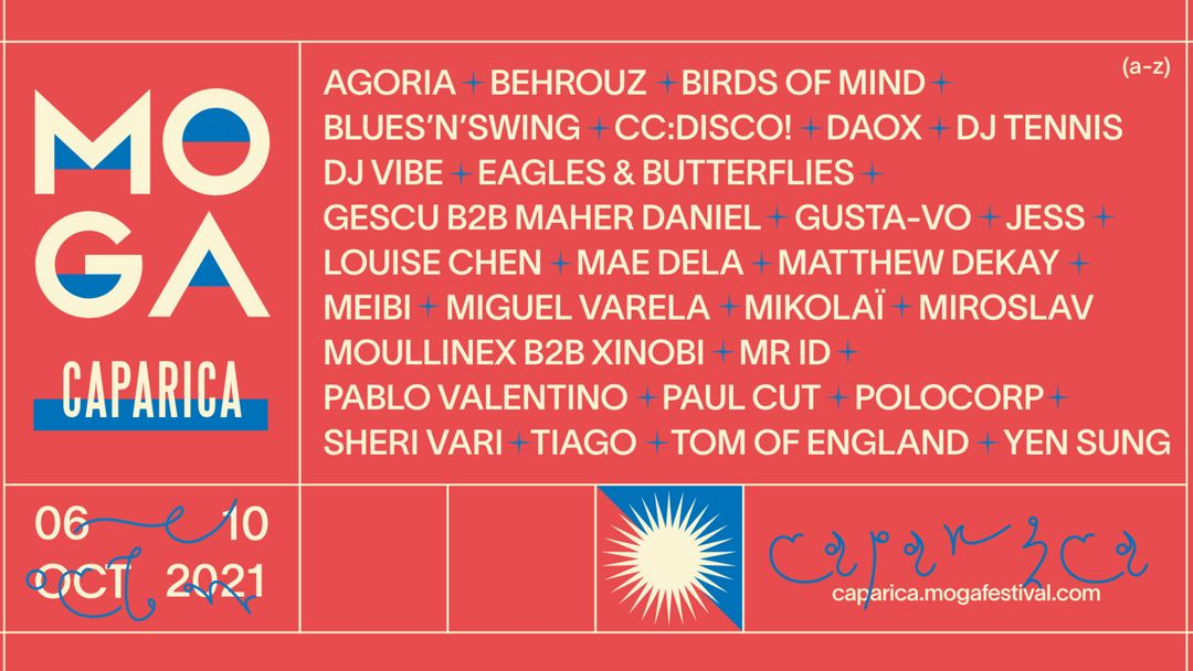 Couverture de l'événement MOGA CAPARICA