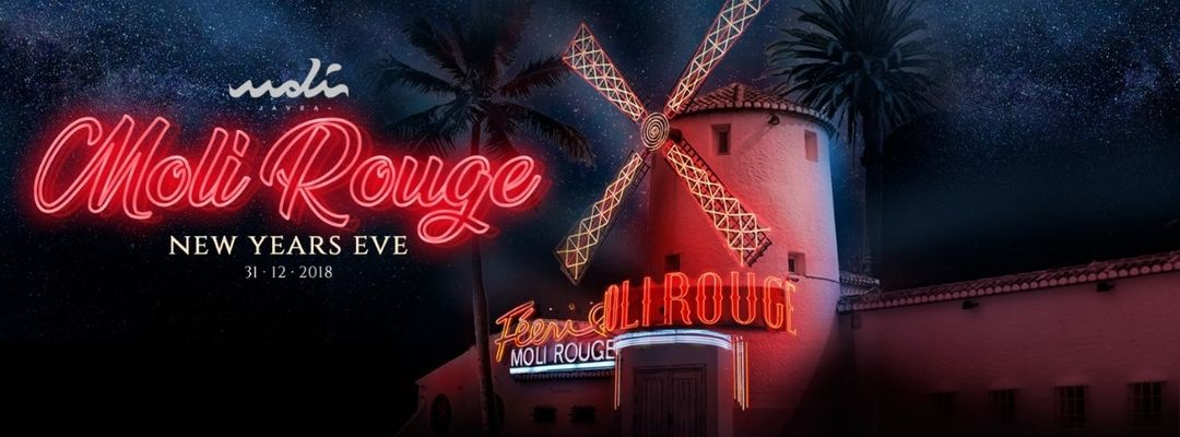 Moli Rouge | New Years Eve - Nochevieja-Eventplakat