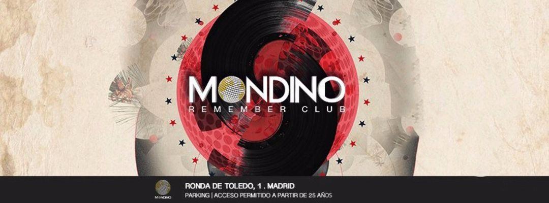 Cartel del evento Mondino Remember Club