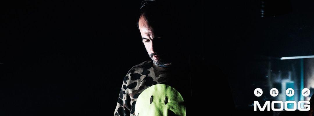 MOOG DJs: GUS VAN SOUND-Eventplakat