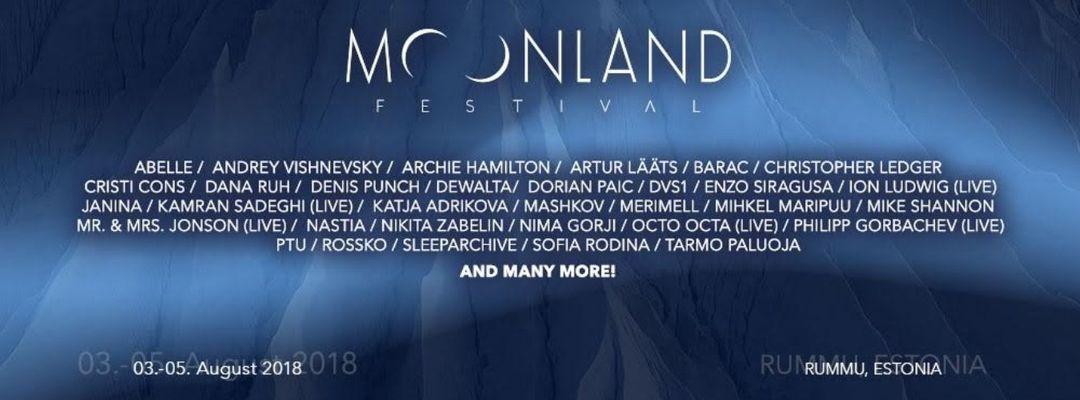 Cartel del evento Moonland Festival 2018