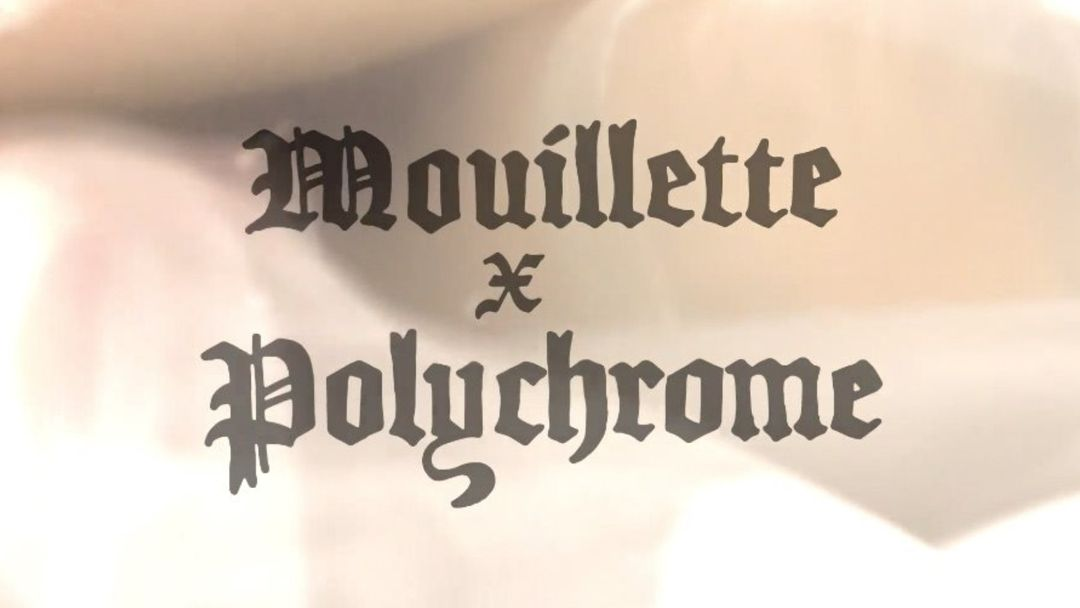 Mouillette x Polychrome-Eventplakat