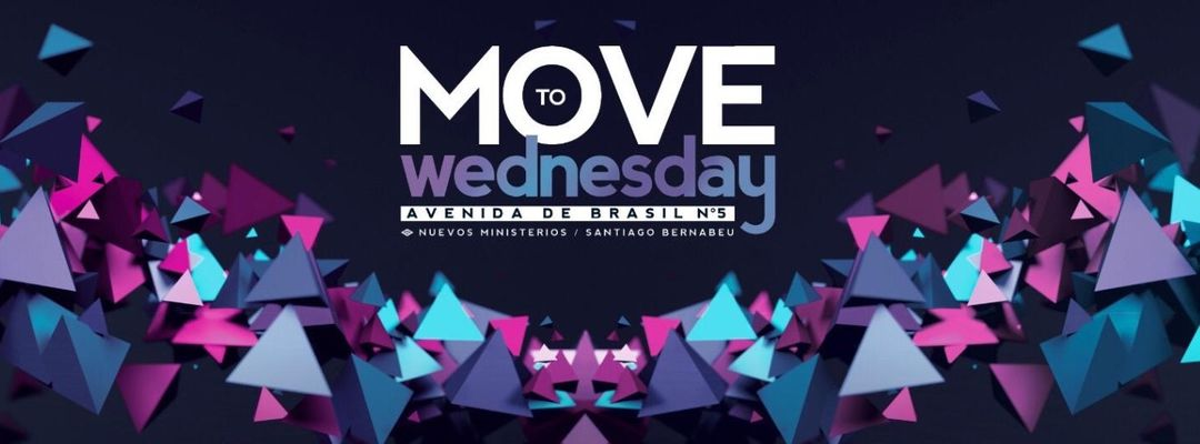 Cartel del evento MOVE TO WEDNESDAY
