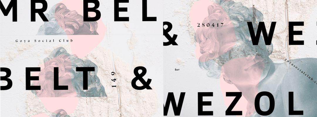 Mr. Belt & Wezol event cover
