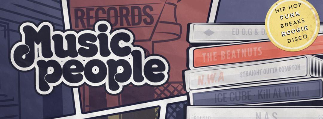 Cartel del evento Music People