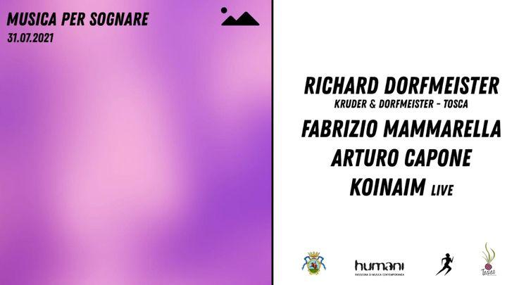 Cover for event: Musica per Sognare pres. Richard Dorfmeister (Kruder & Dorfmeister)