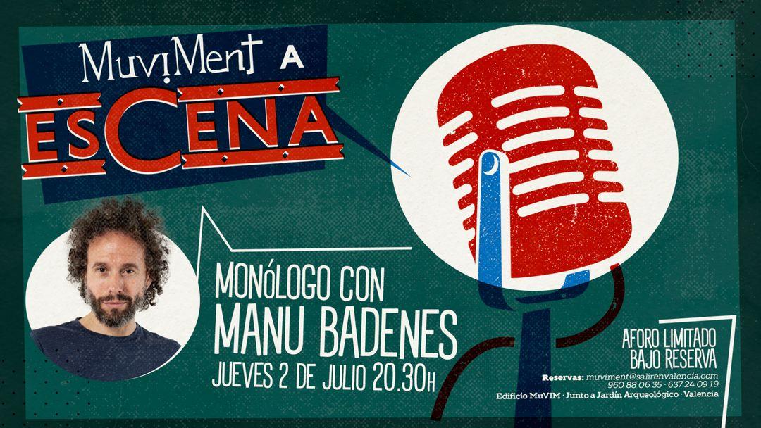 Muviment a EsCena: Monólogo con Manu Badenes event cover