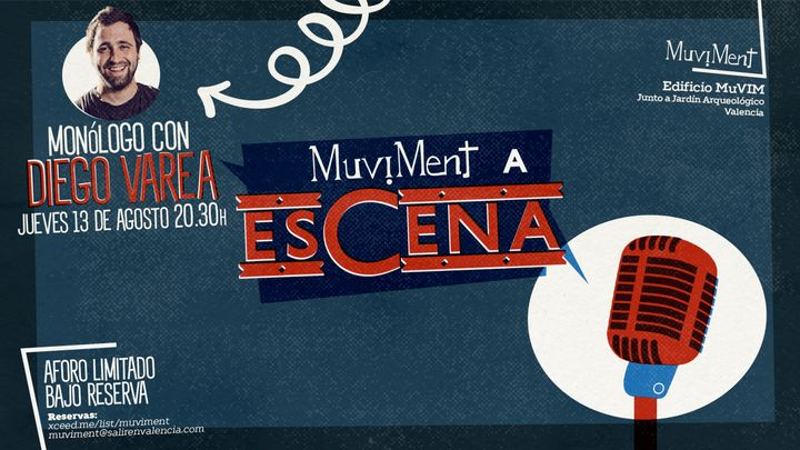 Cover for event: Muviment a EsCena: Monólogo de Diego Varea