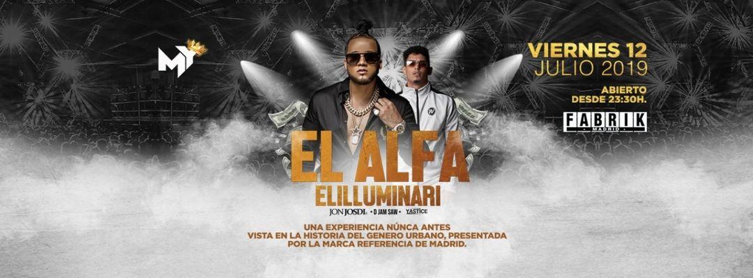 Cartel del evento My @ El Alfa