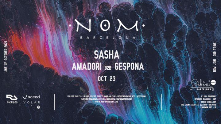 Cover for event: N O M pres: Sasha, Amadori b2b Gespona