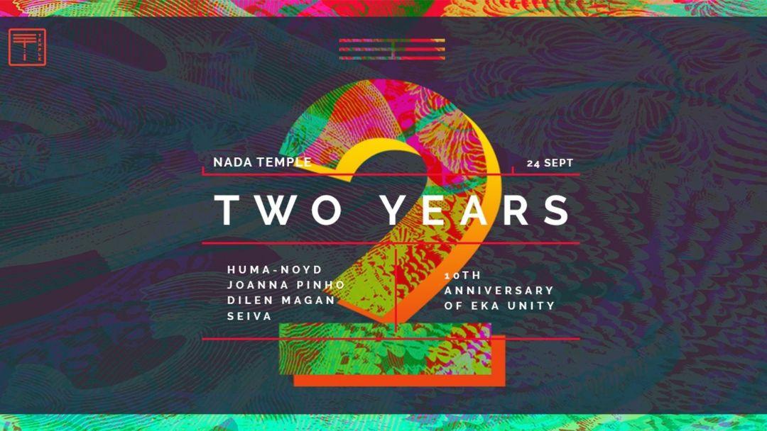 Couverture de l'événement Nada Temple 2 Years
