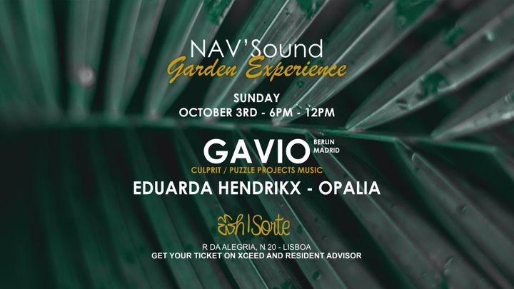 Cover for event: NAV'Sound: Garden Experience Lisboa #2