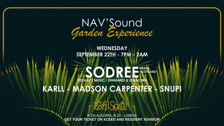Cover for event: NAV'Sound: Garden Experience Lisboa