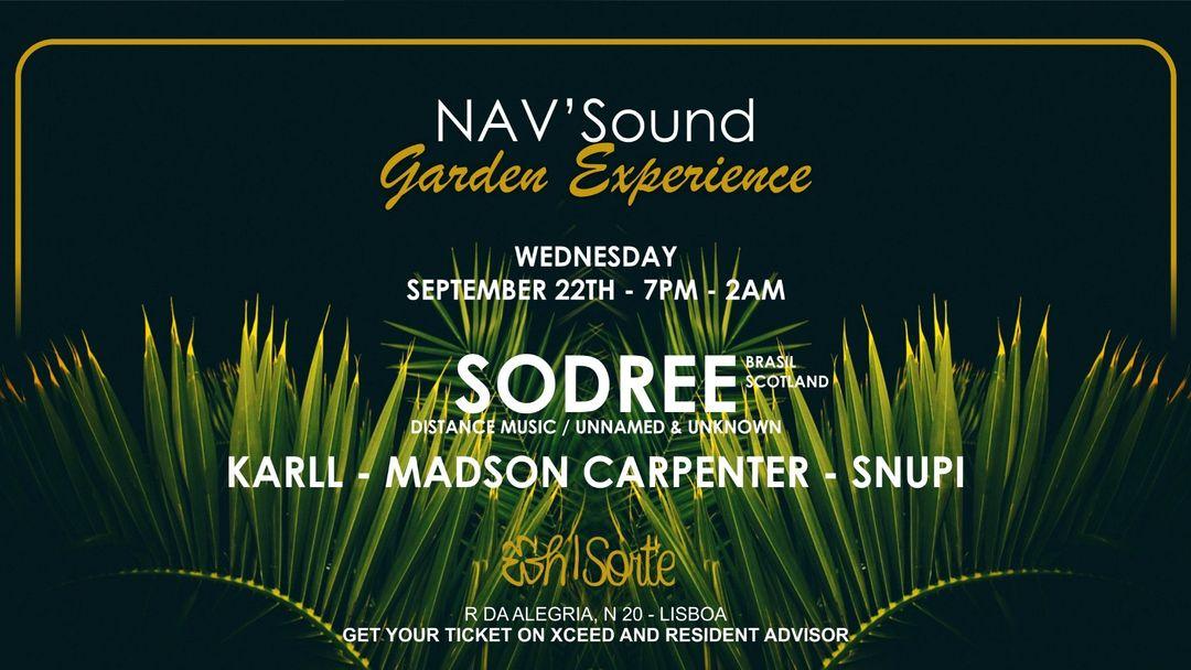 NAV'Sound: Garden Experience Lisboa event cover