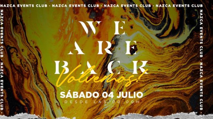 Cover for event: NAZCA SABADO 4 JULIO