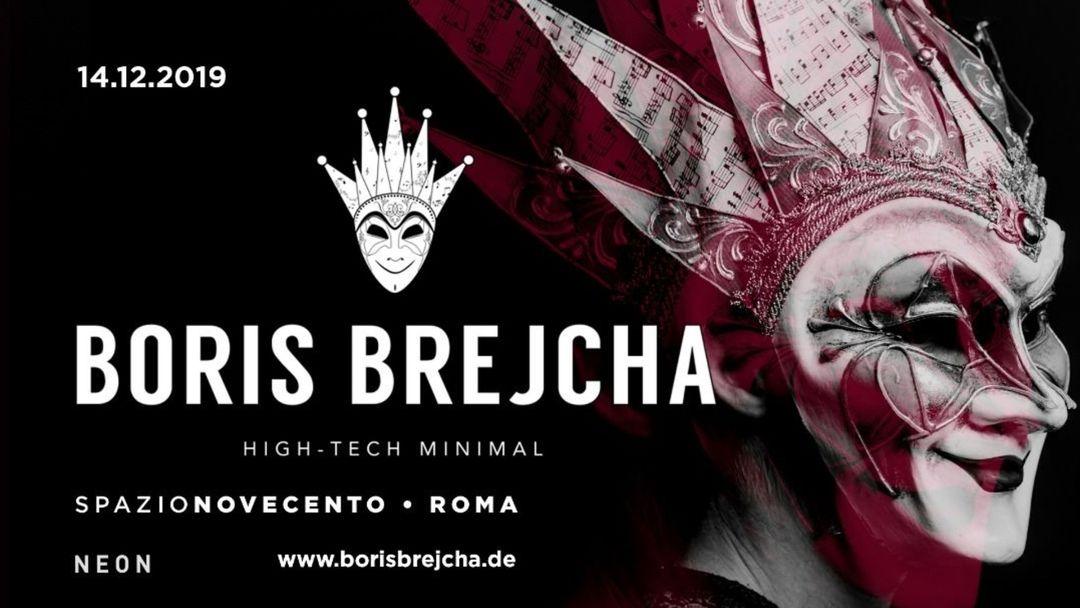 Capa do evento Neon presents Boris Brejcha at Spazio Novecento