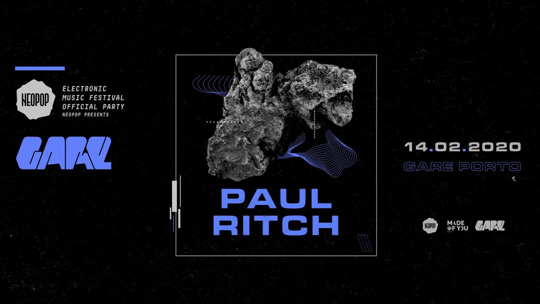 NEOPOP Presents Paul Ritch event cover