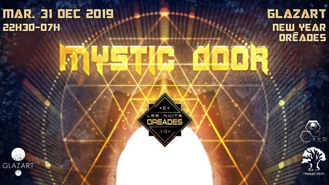 New Year Oréades 'Mystic Door' event cover
