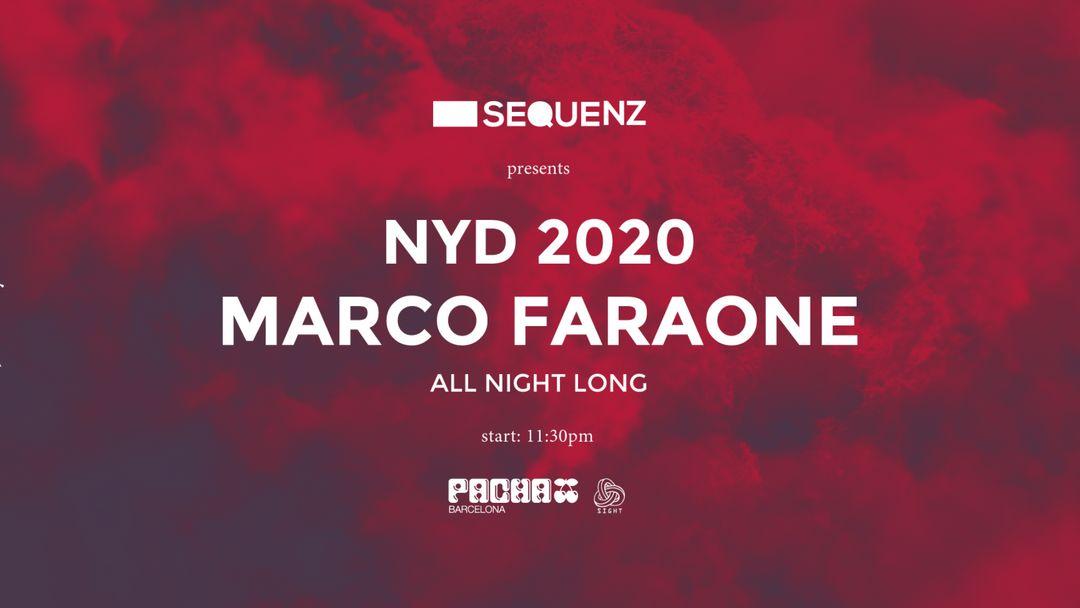 Capa do evento New Year's Day - Marco Faraone (all night long)