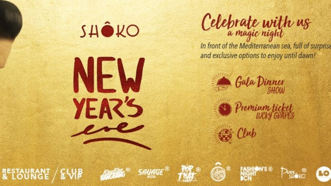 Copertina evento New Years Eve at Shôko